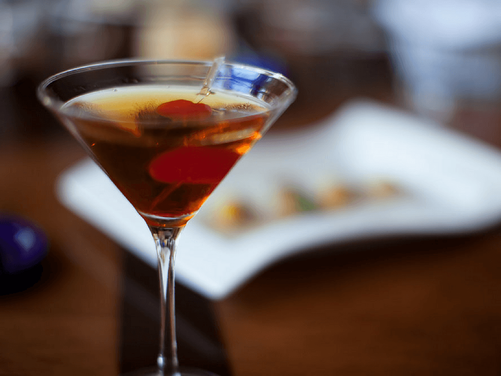 How to make a brandy manhattan
