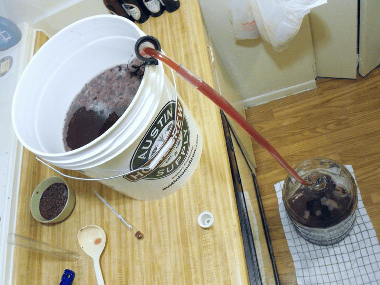 How to rack homemade wine